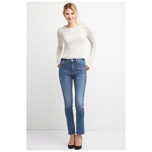 GAP Jeans - GAP High Rise Slim Straight Jeans 28R